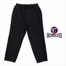 CHALLENGER BIG SIZE Microfiber Spandex Long Pants with Zipper Fly CH6045 (Blac