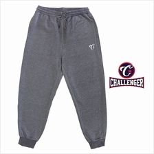 CHALLENGER BIG SIZE Microfiber Spandex Sports Pant with Grip CH6044 (Dark Mela
