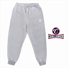 CHALLENGER BIG SIZE Microfiber Spandex Sports Pant with Grip CH6044 (Melange)