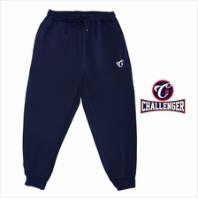 CHALLENGER BIG SIZE Microfiber Spandex Sports Pant with Grip CH6044 (Navy)