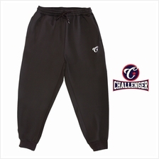 CHALLENGER BIG SIZE Microfiber Spandex Sports Pant with Grip CH6044 (Dark Brow