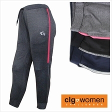 CHALLENGER WOMEN PLUS SIZE Microfiber Spandex Sports Pant with Grip CHW600002