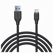Aukey CB-AC2 Braided Nylon USB 3.1 USB A To USB C Cable 2 meter