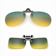376a980f47 4GL CS10 Day Night Vision Driving Clip On Polarized Sunglasses