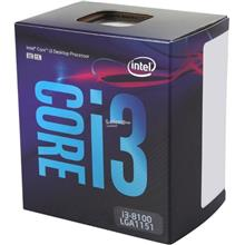 INTEL Processor Socket1151 CORE i3-8100 3.6GHz BX80684I38100