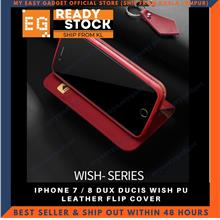 DUX DUCIS WISH PU LEATHER FLIP COVER FOR APPLE IPHONE 7 / 8