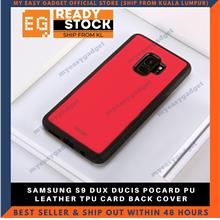 DUX DUCIS POCARD PU LEATHER TPU CARD BACK COVER FOR SAMSUNG S9