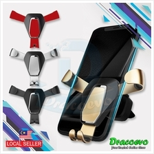 Gravity Metal Car Phone Holder Universal Mobile Phone 4 to 6.5 Inch