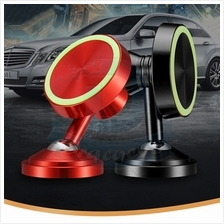 Parking Magnetic Car Phone Holder 360 Degree Luminous Number Plate All