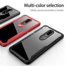 OnePlus 6 PROMO NEW Tough Protection Transparent Case