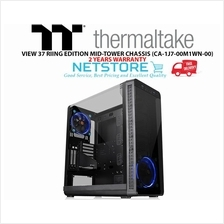 THERMALTAKE VIEW 37 RIING EDITION MID-TOWER CHASSIS CA-1J7-00M1WN-00