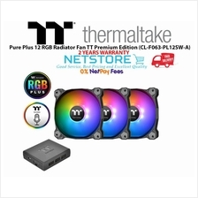 Thermaltake Pure Plus 12 RGB Radiator Fan TT Premium Edition (3 Fan)