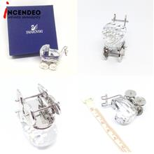 **incendeo** - Swarovski Baby Carriage Rhodium Plated Crystal Figurine