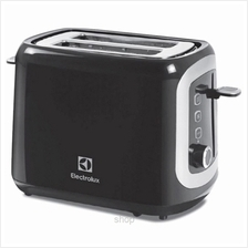 Electrolux EasySense Breakfast Pop up Toaster Black - ETS3505