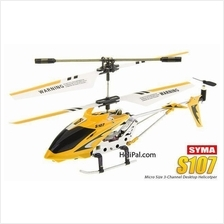 HOT!! 3.5 Channel SYMA S107 FULL METAL ALLOY RC HELI WITH GYROSCOPE !!