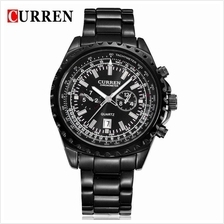 Curren 8053 Men's Military Calendar Display Quartz S.Steel Watch