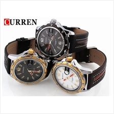 Curren 8104 Men's PU Leather Quartz Watch