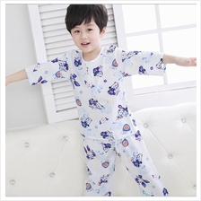 Super Soft Ice Cool Kids Boy Girl Pyjamas Sleepwear Set Size 85
