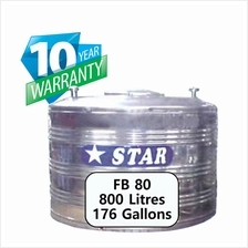 Star FB80 Flat Bottom Stainless Steel Water Tank w/o stand