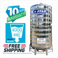 Star WS400 Stainless Steel Water Tank (4000L/880gal)
