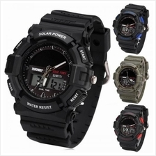 SKMEI 1050 Men''s Military Solar Power LED Sports Watch