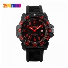 SKMEI 1078 Men''s Noctilucent Calendar Sports Watch