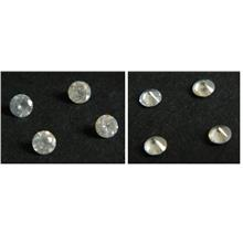 Blinking 4 pcs 2.5mm loose diamond round faceted - DIA 32
