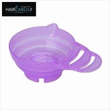 Salon Hair Tint with Handle Hair Dye Mixing Plastic Bowl