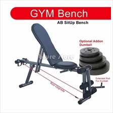Gym ABS Sit Up Bench Fitness Chair Dumbell