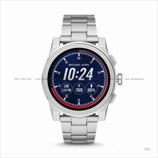 626c2ed629e9 MICHAEL KORS ACCESS MKT5025 Grayson Smartwatch SS Bracelet Silver