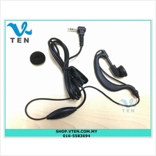 Earphone For Walkie Talkie 1.27mm-1.3mm Connector For Radio