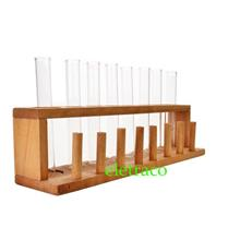 8pcs Test Tube with Rack / Set Tabung Uji