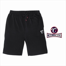 CHALLENGER BIG SIZE Cotton Mix Track Shorts CH5031 (Black)