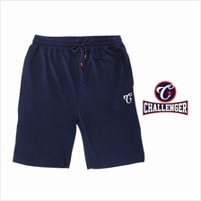 CHALLENGER BIG SIZE Cotton Mix Track Shorts CH5031 (Navy)
