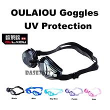 OULAIOU Unisex UV  Protection  Swim Swimming Goggles Goggle Diving