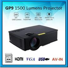 OHHS GP9 HDMI USB Video Home Theater Portable Mini LED Projector