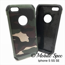 Apple iPhone 5 5s 6 6s 7 Plus Camouflage Army Case Cover