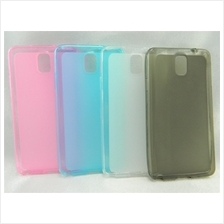 Samsung Galaxy Note 3 N9000 Pudding Transparent TPU Soft Tinted Case