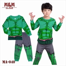 CY 149216 CHILDREN KID PYJAMAS SLEEPWEAR DISNEY CARTOON AVENGERS HULK