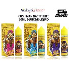 Nasty Cush Man Vape Juice E-juice E-liquid 60ML 6MG Free Cotton