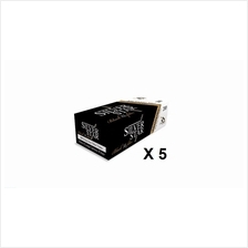 5 boxes of Silver Star Carbon  & Black Tipping Extra Long Filter Tube (200piec