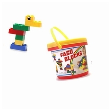 Bucket 33pcs Faco Blocks