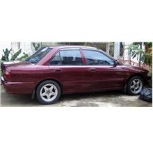 Proton Wira,Mitsubishi 1.6 MIVEC Engine AUTO Red color