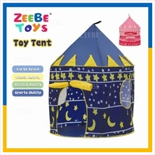 Portable Folding Kids Play Castle Tent Cubby House Toy Toys