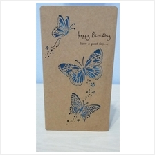 BIRTHDAY CARD - BUTTERFLIES