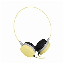 HOCO W3 COLORFUL STEREO WIRED 3.5MM HEADSET HEADPHONES (YELLOW)
