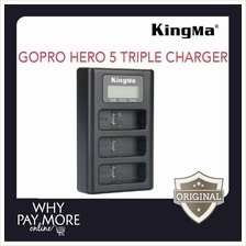 Kingma GoPro Hero 5 Triple Battery Charger BM043 Sport Action Camera