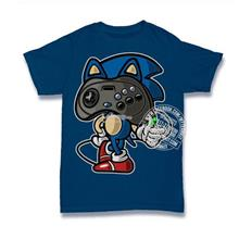 Sonic Player Head T-shirt Custom Tee