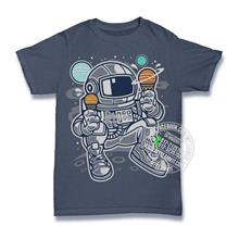 Astronaut Ice Cream T-shirt Custom Tee