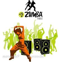 Zumba Total Body Transformation System+12 Zumba Music+ Schedule in DVD